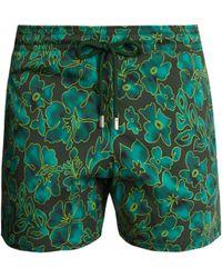 Vilebrequin - Short de bain à imprimé Natural Flowers Moorise - Lyst