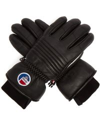 Fusalp - Aksel Technical Leather Ski Gloves - Lyst