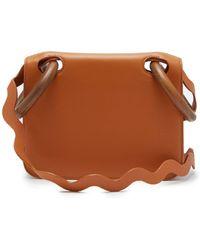ROKSANDA - Neneh Wave Strap Leather Cross Body Bag - Lyst