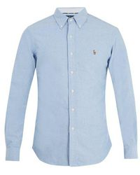 Polo Ralph Lauren - Logo-embroidered Cotton Shirt - Lyst