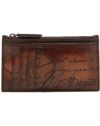 Berluti - Koa Leather Cardholder - Lyst