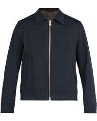 Rag & Bone - Garage Cotton Blend Jacket - Lyst