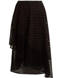 Sportmax | Nabulus Eyelet-lace Asymmetric Skirt | Lyst