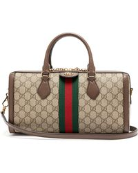 Gucci - Ophidia Boston Gg Supreme Bag - Lyst