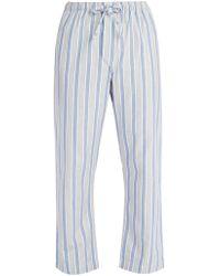 Derek Rose - Cotton Pyjama Trousers - Lyst