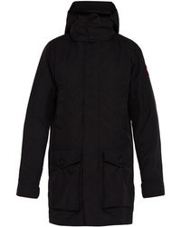 Canada Goose - Crew Hooded Trench Coat - Lyst