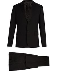Valentino - Satin-lapel Wool And Mohair-blend Tuxedo - Lyst