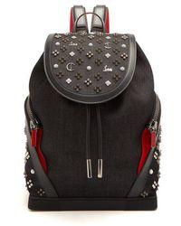 Christian Louboutin - Explorafunk Spike-embellished Backpack - Lyst