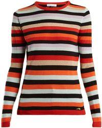 Bella Freud - Lolita Striped Wool And Cashmere Sweater - Lyst
