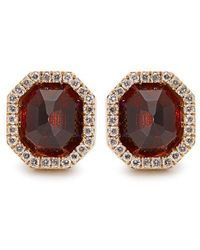 Monique Péan - Diamond, Garnet & White-gold Earrings - Lyst