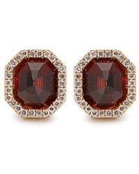 Monique Péan - Diamond, Garnet & White-gold Earrings - Lyst