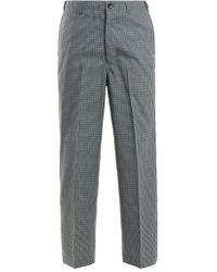 Chimala - Checked Straight-leg Wool-blend Trousers - Lyst