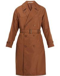 Bottega Veneta | Notch-lapel Doubled-breasted Trench Coat | Lyst