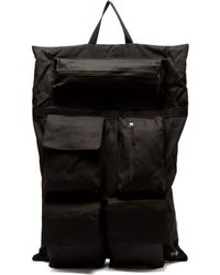 Eastpak - Photographic Print Satin And Canvas Backpack - Lyst