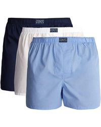 Polo Ralph Lauren - Set Of Three Cotton Boxer Briefs - Lyst