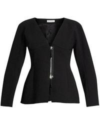 Altuzarra - Campion Zip-up Collarless Jacket - Lyst