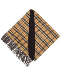 Burberry - House-checked Cashmere Scarf - Lyst