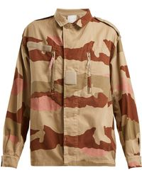 MYAR - Camouflage-print Cotton Jacket - Lyst