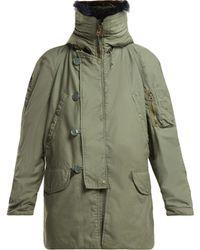 MYAR - Us Army Vintage Cotton Blend Parka - Lyst