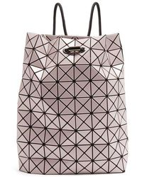 Bao Bao Issey Miyake Wring Drawstring-rope Backpack in Pink - Lyst e53ebde115