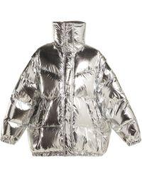 MM6 by Maison Martin Margiela - Detachable Sleeve Puffer Jacket - Lyst