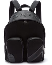 Givenchy - Mc3 Canvas And Leather Backpack - Lyst