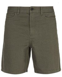 A.P.C. - Emeric Cotton-denim Shorts - Lyst
