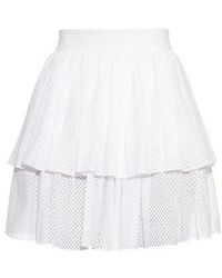Sophie Theallet - Anais Tiered-ruffle Mini Skirt - Lyst
