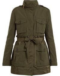 Moncler | Rhodonite Gathered-waist Jacket | Lyst