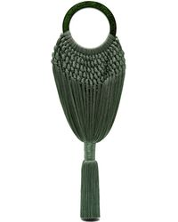 Cult Gaia - Green Angelou Tote - Lyst