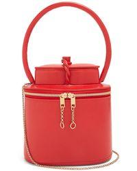 Maison Margiela - Replica Tea Container Leather Clutch Bag - Lyst