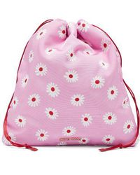 Miu Miu - Daisy-print Drawstring Make-up Bag - Lyst