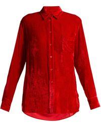 Sies Marjan - Sander Corduroy Shirt - Lyst