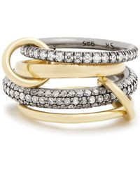 Spinelli Kilcollin - Vega Diamond, Silver & Yellow-gold Ring - Lyst