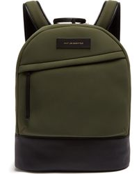 Want Les Essentiels De La Vie - Kastrup Leather Trimmed Neoprene Backpack - Lyst