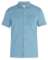 Oliver Spencer - Hawaiian Short-sleeved Cotton Shirt - Lyst
