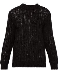 CALVIN KLEIN 205W39NYC - Loose Knit Cotton Jumper - Lyst
