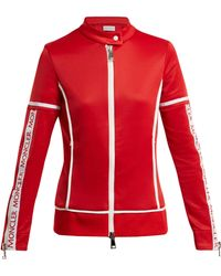 Moncler - Jersey Stretch Track Top - Lyst