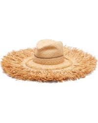 Lola Hats - Coconut Wide Brim Raffia Hat - Lyst