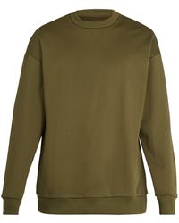 Marques'Almeida - Crew Neck Cotton Blend Sweatshirt - Lyst
