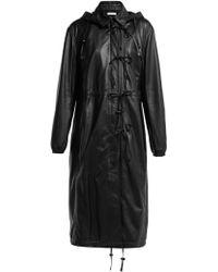 Altuzarra - Marina Single Breasted Leather Coat - Lyst