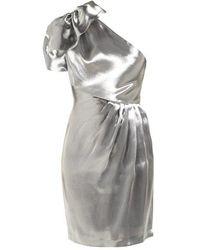Maria Lucia Hohan - Alya One-shoulder Organza Mini Dress - Lyst