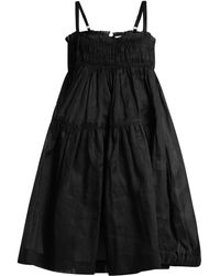 Molly Goddard - Honor Cotton Smocked Dress - Lyst