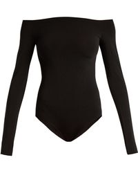 Wolford | Sheen Light Off-the-shoulder Body | Lyst