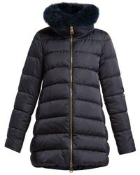 Herno - Double-layer Quilted-down Coat - Lyst