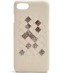 Bottega Veneta | Intrecciato Leather Iphone® 7 Case | Lyst