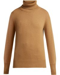 Burberry - Lockeridge Roll Neck Cashmere Blend Sweater - Lyst