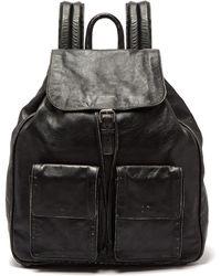 Saint Laurent - Nino Leather Backpack - Lyst