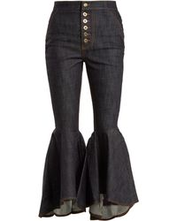 Ellery | Hysteria High-rise Kick-flare Jeans | Lyst