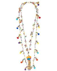 Rosantica By Michela Panero - Pizzo Bead-embellished Spiral Necklace - Lyst